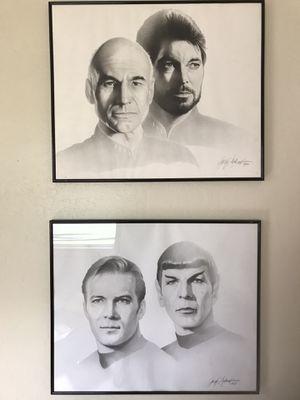 Star Trek Framed Art vintage for Sale in Phoenix, AZ