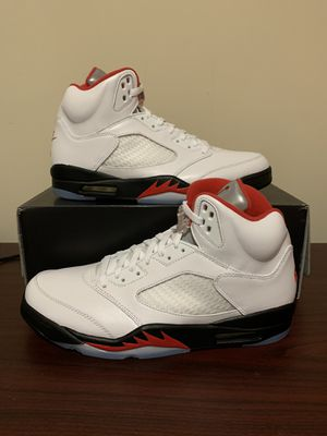 Air Jordan 5 Retro Fire Red 2020 Size 12 for Sale in Marietta, GA