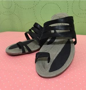 Like new! Patagonia Bandha Black Leather Sandals for Sale in Portland, OR