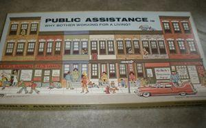 Public Assistance Vintage 1980 Board Game Banned Hammerhead Enterprises COMPLETE for Sale in Bellingham, WA