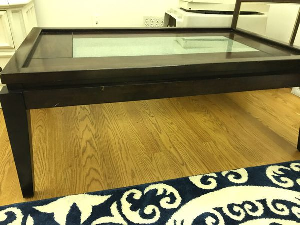 Cindy Crawford coffee table and end tables