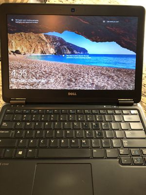 Dell Latitude E7240 refurbished laptop 8 GB RAM 256 SSD Windows 10 for Sale in Dallas, TX