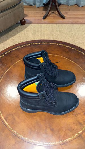 All black Timberland Boots for Sale in Manassas, VA