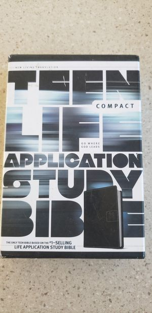 Teen Life Application Study Bible/W Leather Backing for Sale in Preston, CT