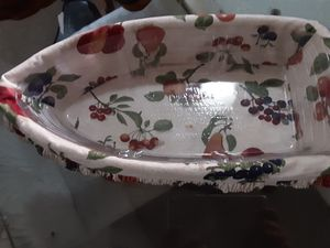Longaberger basket with liner for Sale in Cleveland, OH