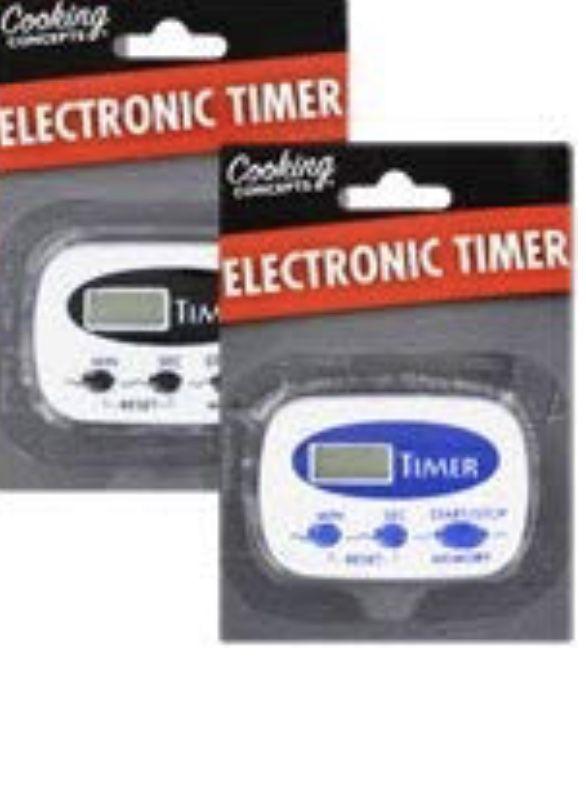 KC Electronic Kitchen Timer (Set of 2)