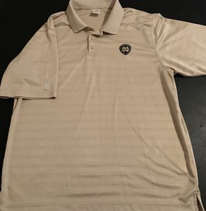 Notre Dame Fighting Irish Adidas Golf Polo Shirt - Men's Size Large for Sale in Katy, TX