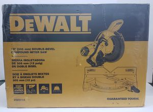 "Brand New Dewalt 12"" Double- Bevel Compound Miter Saw for Sale in Miami, FL"