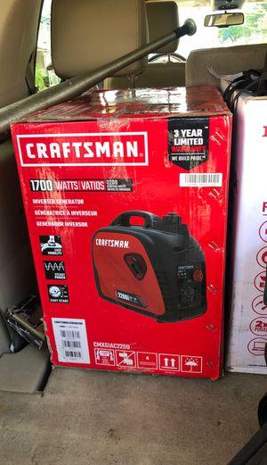 Craftsman Generator for Sale in Philadelphia, PA