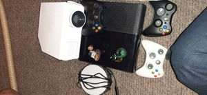 Xbox 360, 3 controller, projector, 10 game for Sale in Lawrence, MA