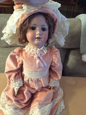 Antique composite doll 1900's with appraisal for Sale in Vail, AZ