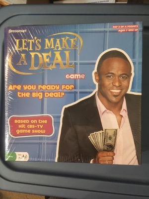 Brand new board game - Lets Make a Deal for Sale in San Diego, CA