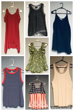 Women's sleeveless tops - size large or extra large for Sale in West Lawn, PA