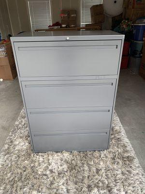 All Steel Inc. 4 Drawer Cabinet for Sale in Herriman, UT