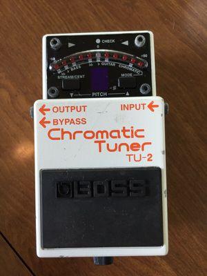 Boss TU-2 Chromatic Tuner Guitar Pedal for Sale in Detroit, MI