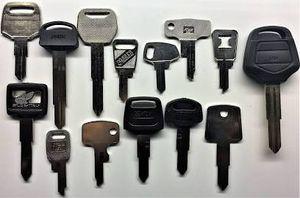 Honda, Kawasaki, Suzuki Motorcycle keys in stock ready to use for Sale in Johnston, RI