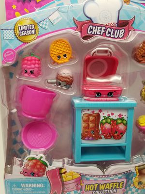 Shopkins Hot Waffle Collection for Sale in Phoenix, AZ