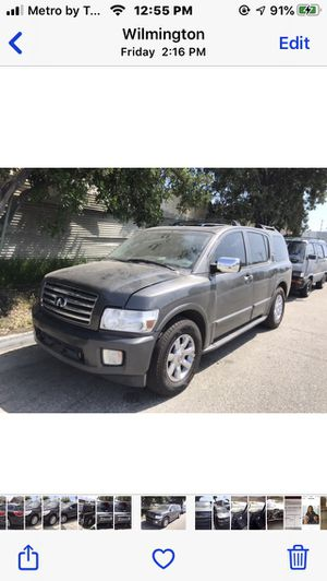 06 infinity QX56 for parts for Sale in Pico Rivera, CA