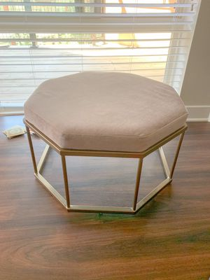 Pink ottoman for Sale in Tysons, VA