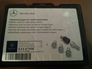 Mercedes Wheel Locks OEM Not Aftermarket for Sale in Houston, TX
