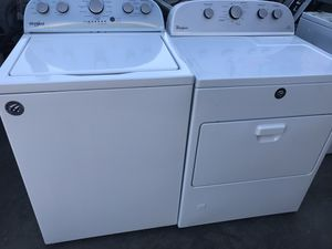 WASHER AND DRYER SET WHIRLPOOL for Sale in La Habra Heights, CA