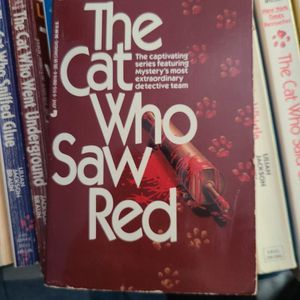 The Cat Who Saw Red, Lillian Jackson Braun, Paperback for Sale in Kent, WA