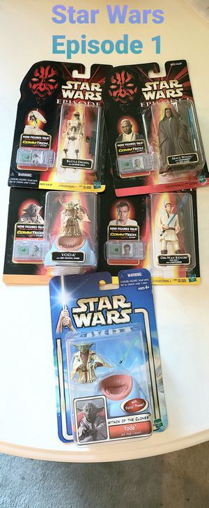 Star Wars Episode 1 Action Figures for Sale in Portland, OR
