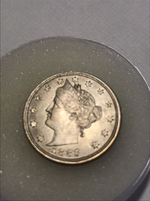 1883 NO CENTS LIBERTY HEAD V NICKEL for Sale in Scottsdale, AZ