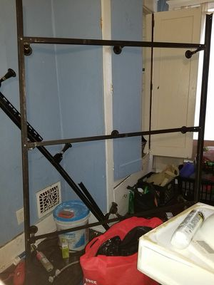 1 queen sized bed frame 15 dollars for Sale in Erie, PA