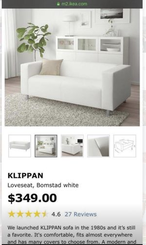 White leather couch for Sale in Opa-locka, FL