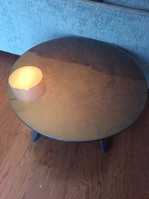 Unique coffee table and side table. Excellent condition. for Sale in MIDDLE CITY WEST, PA