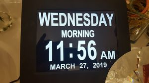 Digital Clock for any room for Sale in Snellville, GA