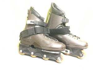 Pro street Skate rollerblades rare Chocolate Version size 9 for Sale in Silver Spring, MD