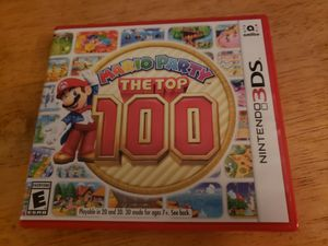 Mario party 100 3ds for Sale in Saint CLR SHORES, MI