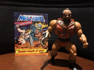 Vintage MOTU Jitsu Action Figure with Comic for Sale in Arnold, MO