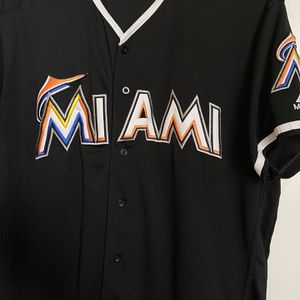 Miami Black Baseball Jersey for Sale in Fresno, CA