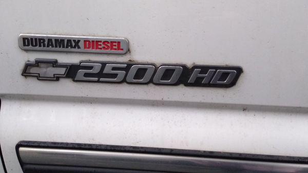 2002 Chevy Silverado 2500HD Duramax (LB7) Diesel