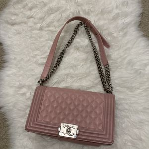 Chanel pink boy bag for Sale in Tampa, FL