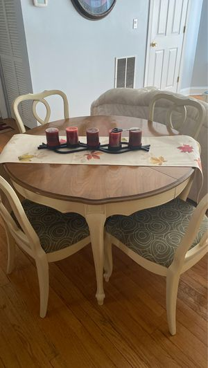 Antique set tables and chairs , stand up bar and chest of drawers .Comes as a set for Sale in Chicago, IL