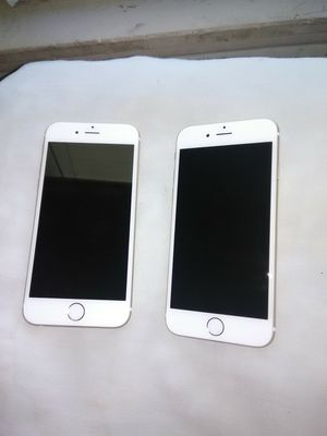 (2) iPhone 6 - 32GB Gold (UNLOCKED) for Sale in Pittsburgh, PA