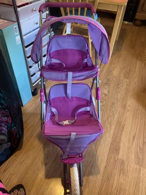 DOLL DOUBLE STROLLER for Sale in Rocklin, CA