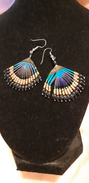 Native feather earrings for Sale in Riverside, CA