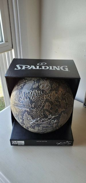 Spalding Limited Edition Kobe Bryant 24K 94 Series Basketball for Sale in La Habra Heights, CA