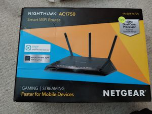 NIGHTHAWK AC1750 SMART WIFI ROUTER for Sale in Cumberland, IN