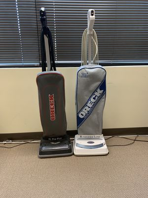 Oreck vacuum for Sale in Sterling, VA