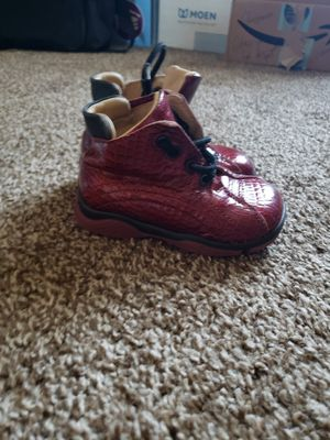 Italian leather baby boots for Sale in Rogersville, MO