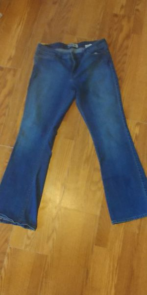 Size 14 Levi Strauss modern boot cut jeans for Sale in Orlando, FL