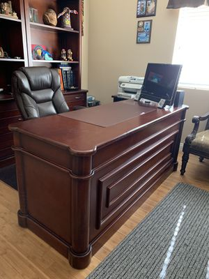 Antique real wood desk for Sale in Chino, CA