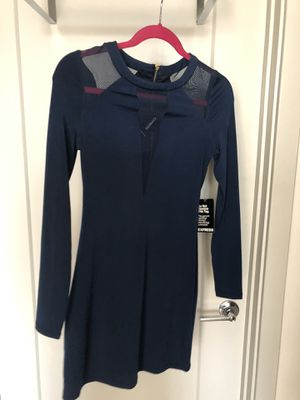 Blue Express bodycon dress for Sale in Rockville, MD
