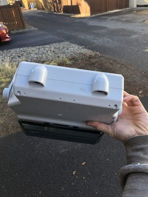 Jensen Marine single DIN stereo enclosure for Sale in Bend, OR